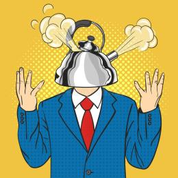 businessman-kettle-head-steam-pulled-out-lid-vector-hand-drawn-pop-art-illustration-70388152